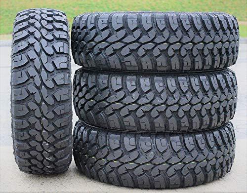 Set of 4 (FOUR) Forceum M/T 08 Plus Mud-Terrai Radial Tires-27X8.50R14 LT 95Q LRC 6-Ply