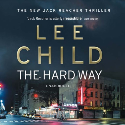 The Hard Way audiobook cover art