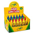 Crayola Hand Sanitizer for Kids, for School, Safe for Skin, Made in USA, Display of 24 2oz Mini Travel Size Bottles
