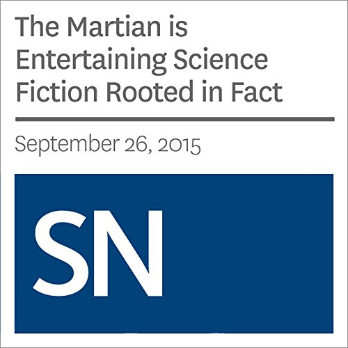 The Martian is Entertaining Science Fiction Rooted in Fact cover art