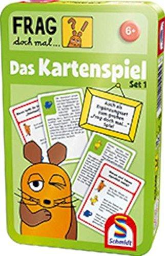 Schmidt Spiele 51254 - Die Maus, Das Kartenspiel, Edition 1