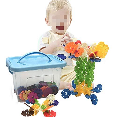 CaoQuanBaiHuoDian Kinder Bausteine  Kinder-Bildungs-Spielzeug Und Kreative Bausteine Set Mit Aufbewahrungsboxen for 18 Monate Oder Mehr Jungen Und Mädchen Lernspielzeug (Size : L)