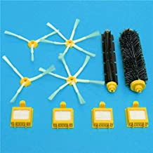 DORLIONA Brushes and Filters Vacuum Parts for iRobot Roomba 700 Series Vacuum Cleaner Accessories Replacement