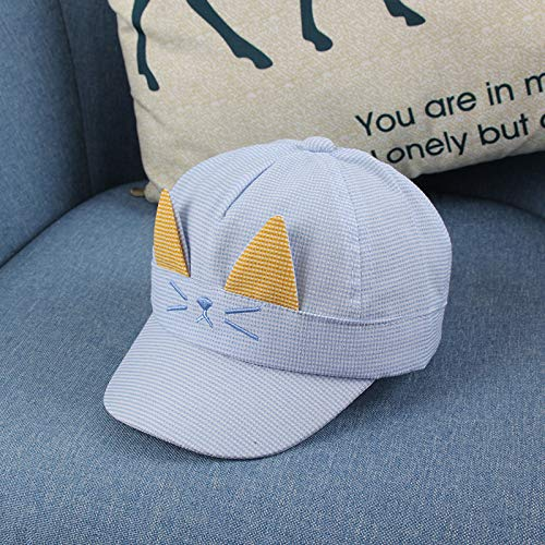 wtnhz Artículos de Moda Gorros de Gato Bordados Lindos Coreanos Sombrero de bebé con sombrilla de Todo fósforo de modaRegalo de Vacaciones