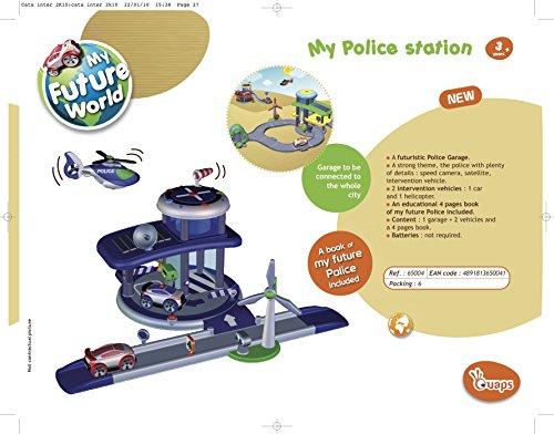 Ouaps - 65004 - Véhicule Miniature - Ma Station de Police