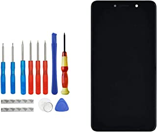 شاشة بديلة E-YIIVIIL متوافقة مع Huawei Honor 6X BLN-AL10 BLN-L24 BLN-L21 BLN-L22 LCD شاشة لمس مع إطار مع مجموعة أدوات (أسود)