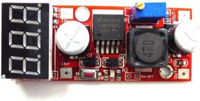 Dc Adjustable Buck Step Down Converter lm2596 Voltage Regulator with Voltmeter