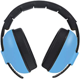 防音イヤーマフ 耳当てプロテクター ベビー 子供用 睡眠・勉強・自閉症・聴覚過敏緩めなど様々な用途に 騒音対策(ブルー)