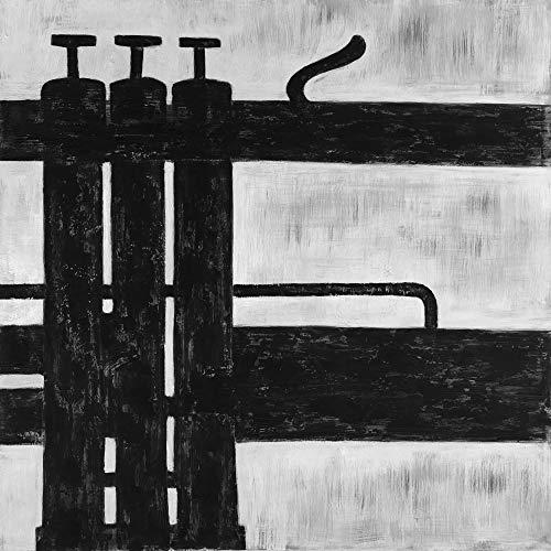 Buy BEGIN DECO MAISON - HOME DECOR 2080-2424-MU23-1 Trumpet Pistons, Fine Art Gallery Wrapped Canvas...