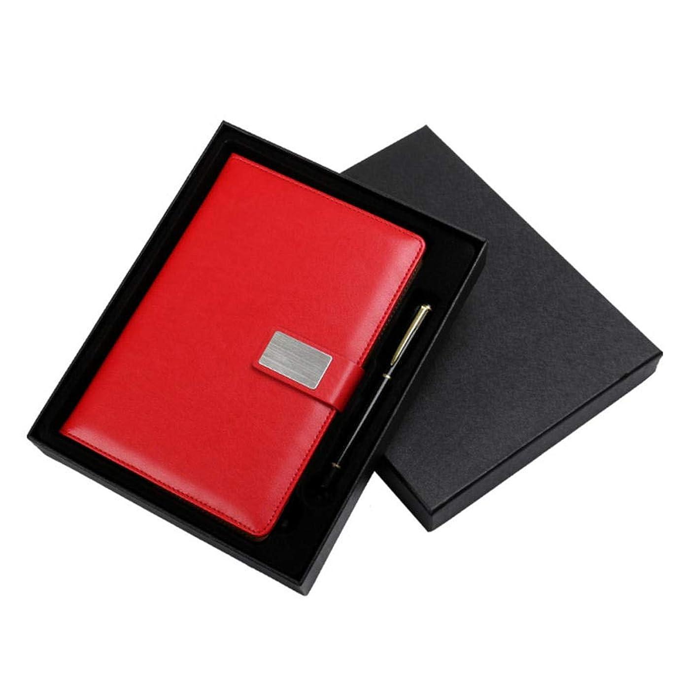 革製の筆記用ノート、高品質の紙とブックマーク付きのビジネス用ノート、130枚