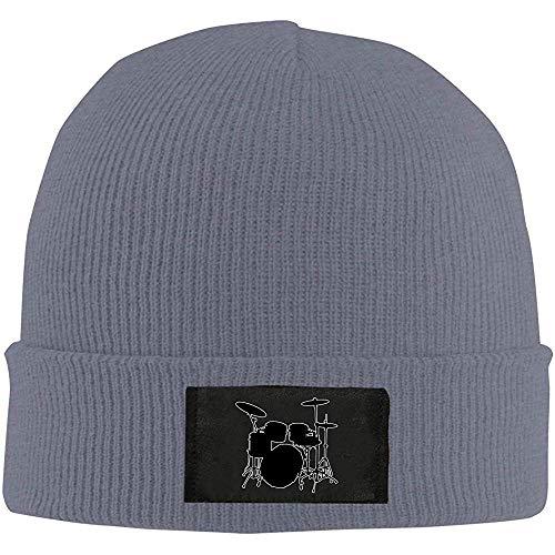 Maselia Schlagzeuger Schlagzeuger Männer Frauen Daily Knit Hats Acryl Warm Beanie Hats Schädel Cap Winter Hats