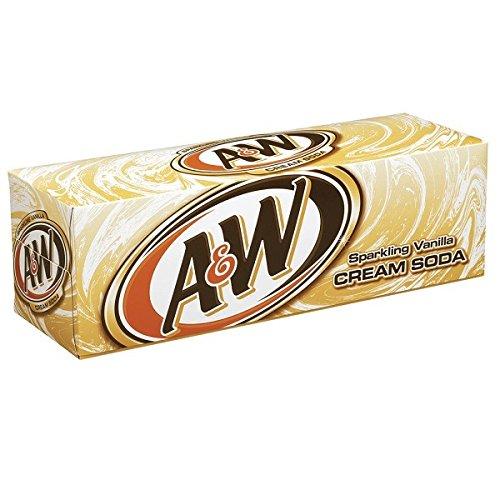 A&W Cream Soda 24 x 355 ml