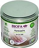 Biofa 2060 Incolore Cera dura natural universal 1 l para madera interior, 2060