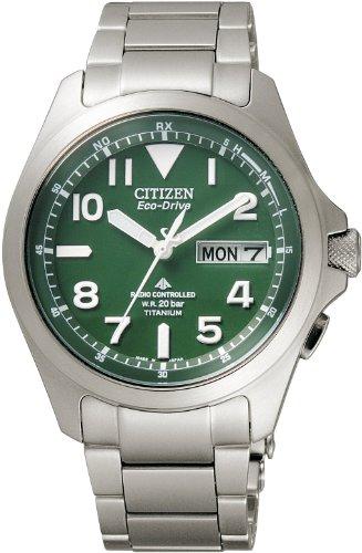 『[シチズン]CITIZEN 腕時計 PROMASTER プロマスター エコ・ドライブ 電波時計 ランドシリーズ PMD56-2951 メンズ』のトップ画像
