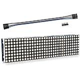 kwmobile Matriz LED 8 x 32 - Módulo de Matriz para Raspberry Pi y Arduino - Pantalla LED Arduino y Raspberry Pi