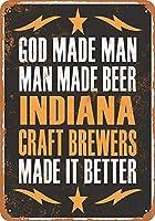 インディアナクラフトブリューワーズは、より良いビールを収集可能なウォールアートにします