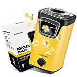 Best Hot Air Poppers - MEOMY Hot Air Popcorn Popper Maker, Electric Popcorn Review