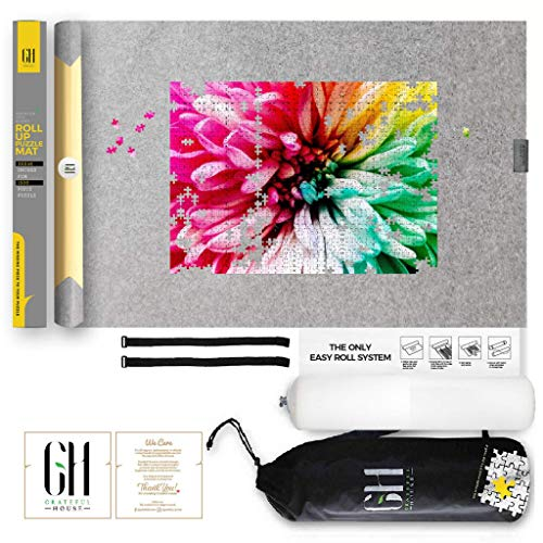GRATEFUL HOUSE Premium ROLL UP Puzzle Mat for...