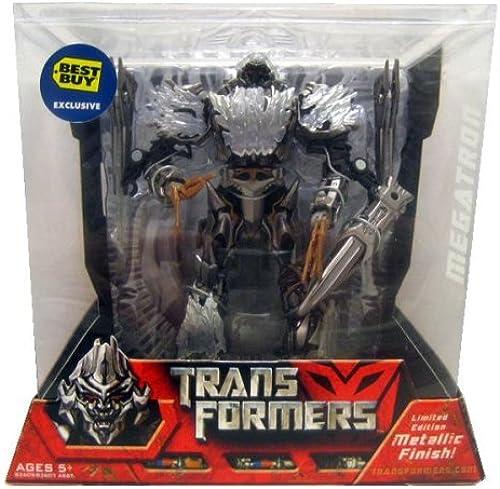 Disfruta de un 50% de descuento. Transformers Transformers Transformers Movie Voyager Megatron Metallic Limited Edition by Hasbro  envío rápido en todo el mundo