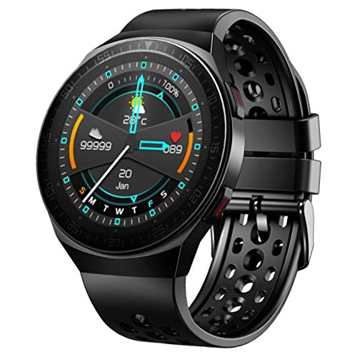 Smart Watch,Fitness Bracelet,Ip67 Waterproof,Breath Training Heart Rate Detection,Bluetooth Call,Male and Female Pedometer,Suitable For All Kinds of Mobile Phones,Removable Strap