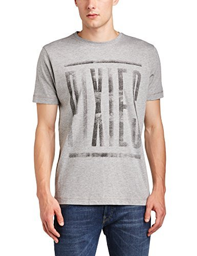 Pixies Dirty Camiseta, Gris, Small para Hombre