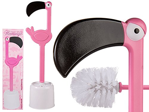 Preis am Stiel Toilettenbürste ''Flamingo''   WC-Bürste   Bad Accessoires