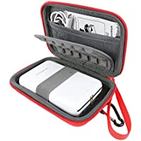 Khanka EVA Funda Estuche Bolso para Polaroid Zip Impresora Móvil - Rojo