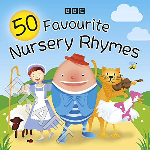 50 Favourite Nursery Rhymes audiobook cover art