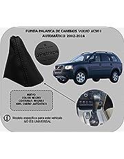 Funda Palanca de Cambios VOLVOXC90 para Cambio Automatico 2002-2014 100% Piel Color Negro