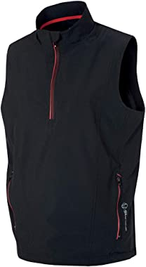 Sunice Kiefer Windwear Vest Black/Scarlet Xx-Large