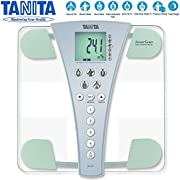 Tanita Digital InnerScan Precision Home Bathroom Weighing Scan Body Fat Water Composition Percentage Monitor Scale - World Best Selling