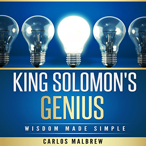 King Solomon's Genius: Wisdom Made Simple audiobook cover art