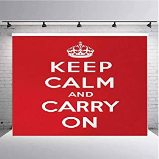 keep calm and carry on white background