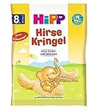 Hipp Knabberprodukte, Hirse-Kringel, 7er Pack (7 x 30 g)