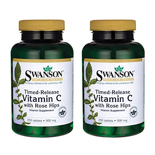 Swanson Timed-Release Vitamin C Tablets