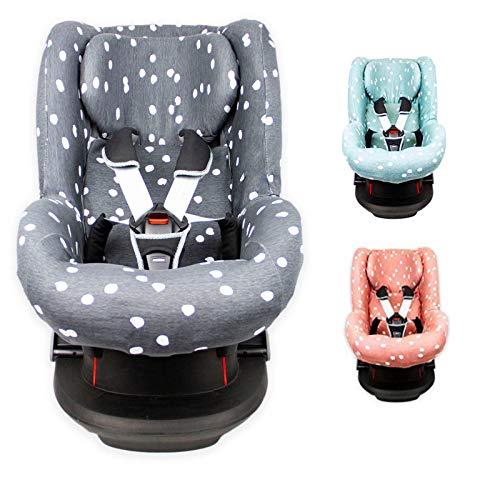 Briljant Baby 2in1 Sitzbezug ** UNIVERSAL Schonbezug 3 und 5 Punkt Gurt System ** Maxi Cosi TOBI + Sitze der Gr. 1 wie z.B. Maxi-Cosi Priori/SPS/XP, Römer King/TS/Duo etc. (Anthrazit)
