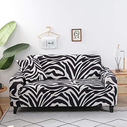 WXQY Funda de sofá de celosía Funda de sofá elástica con Todo Incluido, Utilizada para la Funda de Muebles de Sala, Funda de sofá, Toalla de sofá A16 de 4 plazas