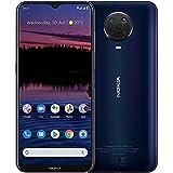 "Nokia G20 - Smartphone 4G Dual Sim, Display 6.5"" HD+, 128GB, 4GB RAM, Quadrupla Camera, Android 11, Batteria..."