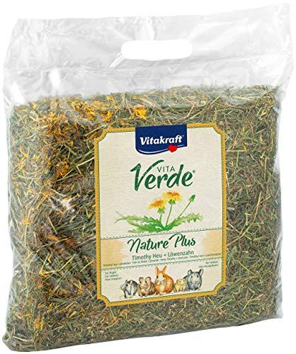 Vitakraft - Vita Verde Nature Plus, Heno con Diente de León para Todo Tipo de Roedores - 500 g 🔥