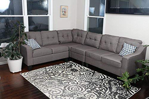 Oliver Smith Sectional Sofa,...