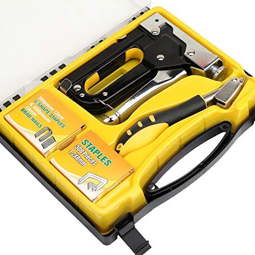 HSEAMALL: Kit de pistola de grapas manual