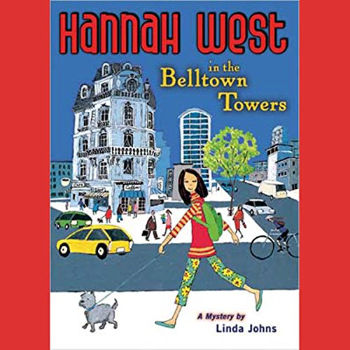 Hannah West in the Belltown Towers audiobook cover art