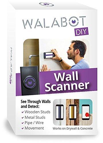 ワラボット スマホ 接続 タイプ 壁やコンクリートの裏側検出 スタッドファインダー スキャナー Walabot DIY...