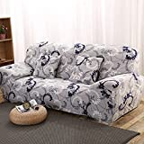 WXQY Funda de sofá elástica de Spandex, Conjunto de sofás de Sala de Estar con Todo Incluido Bien Envuelto, Funda de sofá Antideslizante A12 1 Plaza
