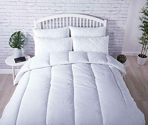 Luxe Couette Extra Profond sommeil Quilt 4.5 10.5 13.5 15 Tog Simple Double King Taille