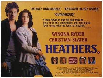 Amazon.com: Heathers 27x40 Movie Poster (1989): Prints: Posters & Prints