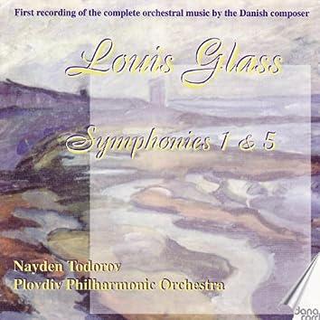 Louis Glass: Symphonies Vol. 4