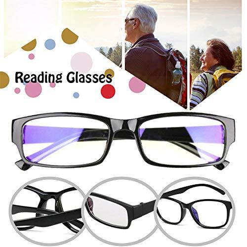 Power Readers Autofocus Leesbril, Unisex Optische Bril met Auto Adjusting Optic Reading Lichtgewicht Bril varieert van 0,5 tot 2,75 (3pcs)