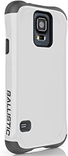 Ballistic Urbanite Case for Samsung Galaxy S5 - Retail Packaging - White/Charcoal