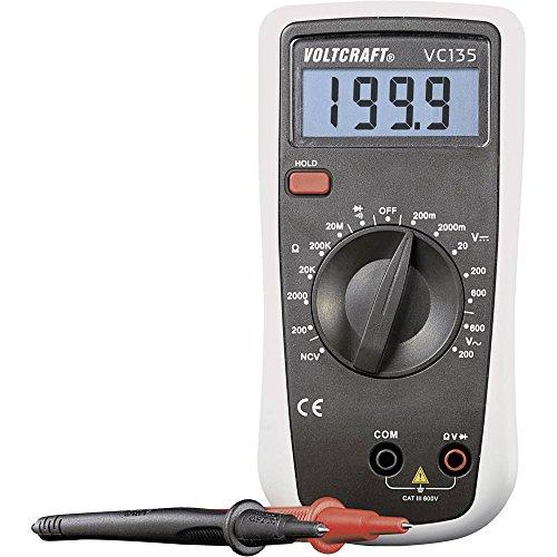 VOLTCRAFT VC135 Hand-Multimeter digital CAT III 600 V Anzeige (Counts): 2000